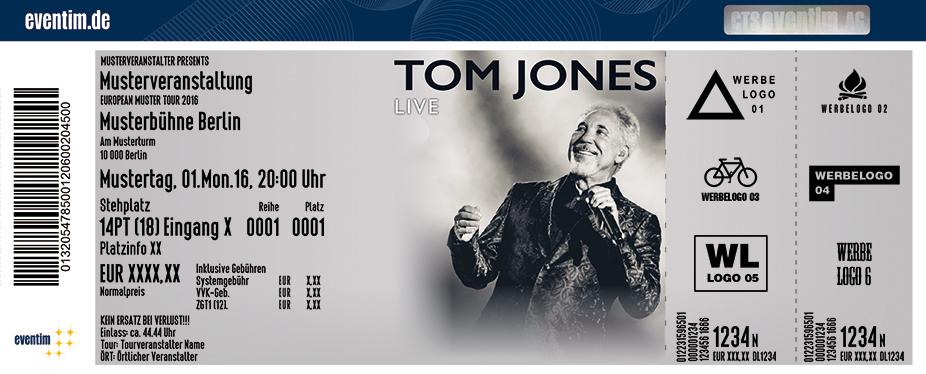 Tom Jones Karten für ihre Events 2017