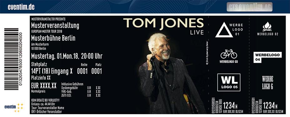 Tom Jones Karten für ihre Events 2018