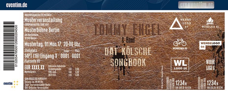Karten für Tommy Engel in Bergheim
