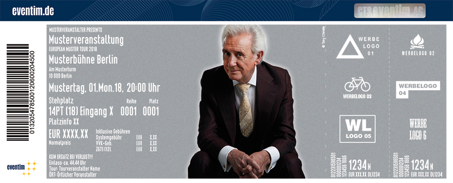 Karten für Tony Christie - The Hits and Pop Nonsense – live mit Band in Hannover