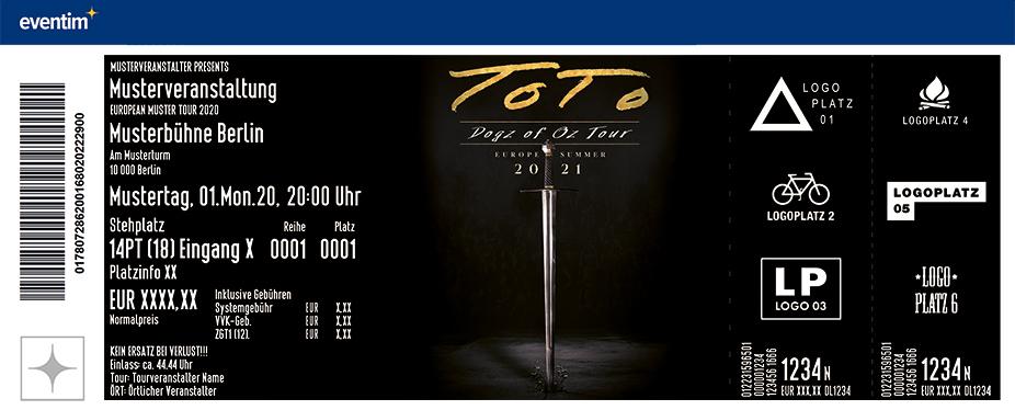 TOTO - The Dogz of Oz - World Tour 2021