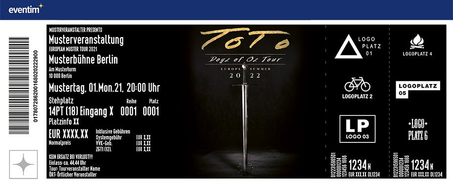 TOTO - The Dogz of Oz - World Tour