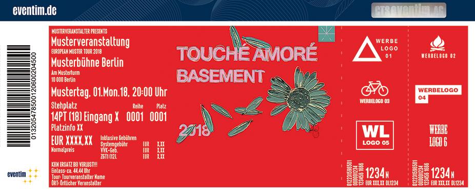 Touché Amoré Karten für ihre Events 2018