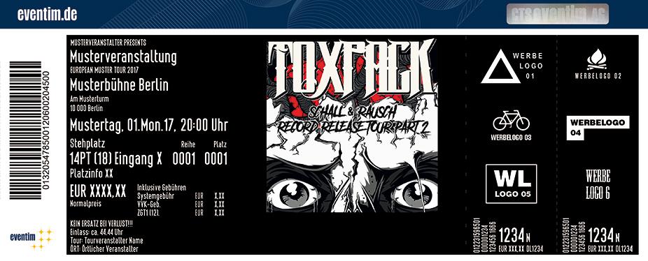 Karten für Toxpack: Schall & Rausch Record Release Tour Part 2 in Jena