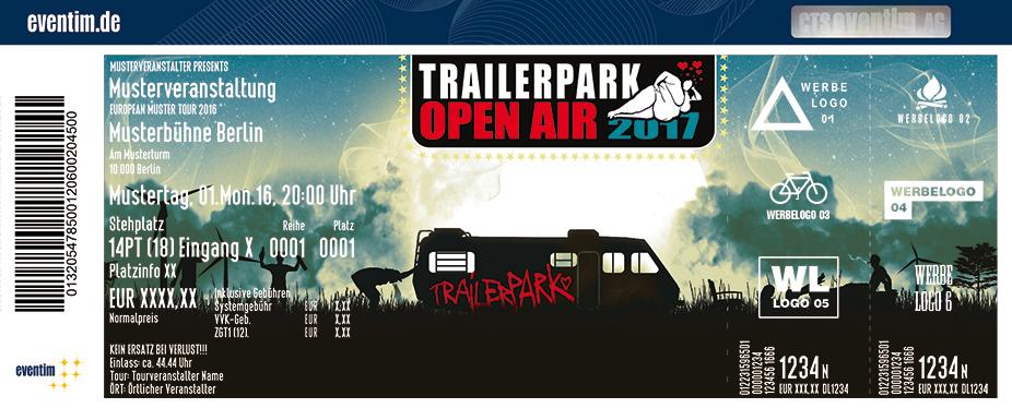Karten für Trailerpark Open Air 2017 in Nürnberg
