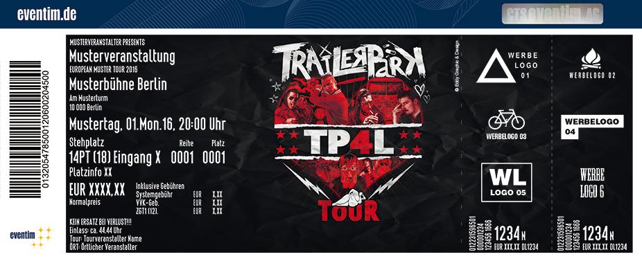 Karten für Trailerpark: TP4L Tour in Münster