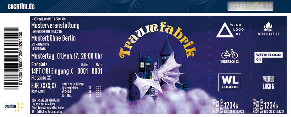 Karten für Traumfabrik - Showtheater der Phantasie in Regensburg
