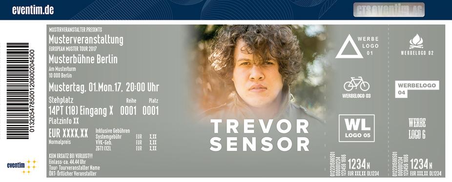 Trevor Sensor Karten für ihre Events 2017