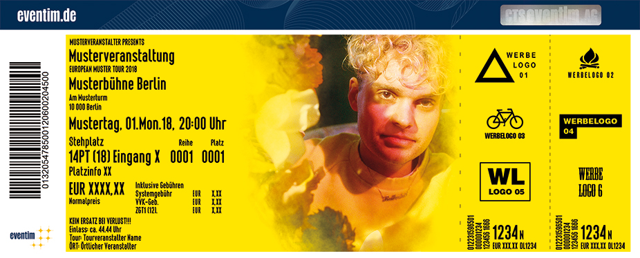 Karten für Tristan Brusch – Die Paradies Tour 2018 in Dortmund