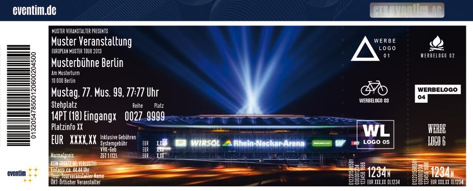 Tsg 1899 Hoffenheim Karten für ihre Events 2017