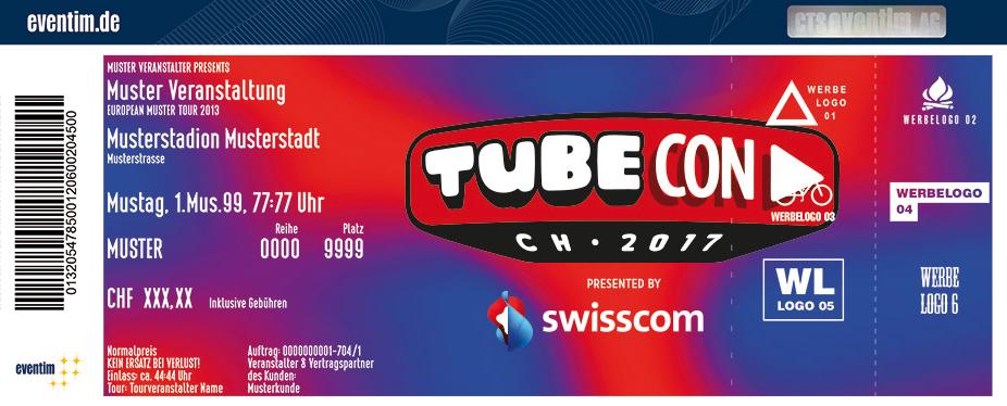 Tubecon Karten für ihre Events 2017