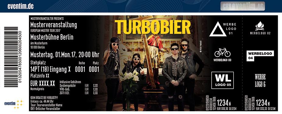 Karten für Turbobier: Das Neue Festament Tour II - Der Kreuzzug geht weiter in Hannover