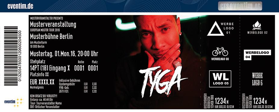 Tyga Karten für ihre Events 2017