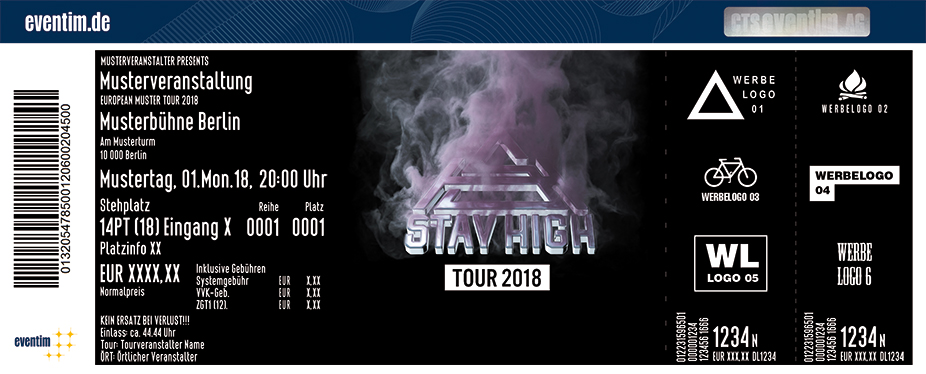 Karten für Ufo361 - Stay High Tour 2018 in Stuttgart