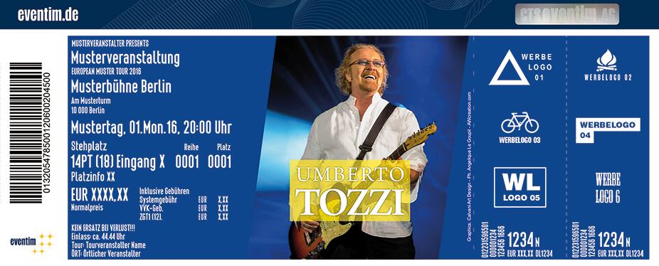 Umberto Tozzi Karten für ihre Events 2017