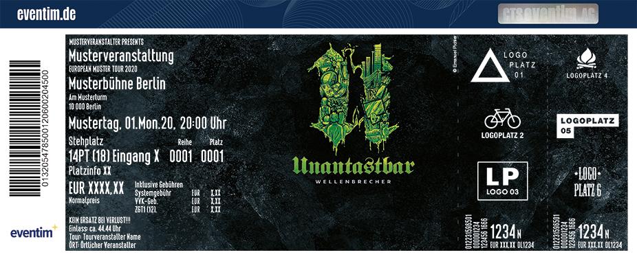 Unantastbar - Wellenbrecher Tour 2021 - Special guest: Ochmoneks
