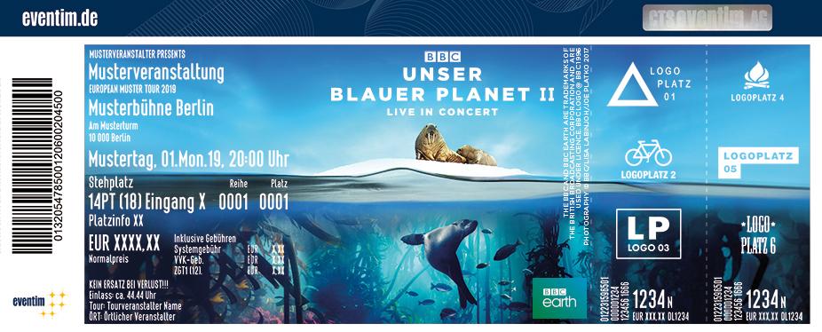 Jetzt Tickets Für Unser Blauer Planet Ii Live In Concert