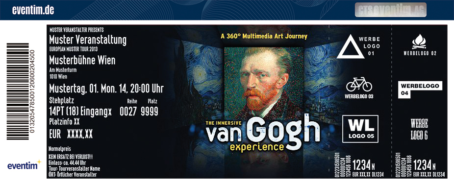 Van Gogh - The Immersive Experience | Flextickets/Geschenktickets