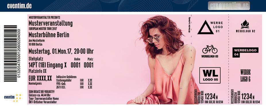 Karten für Vanessa Mai - Supersause zu Hause - Sommerparty'18 in Backnang
