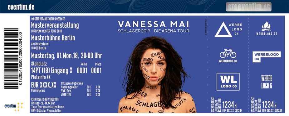 Vanessa Mai: Schlager 2019 - Die Arena-Tour