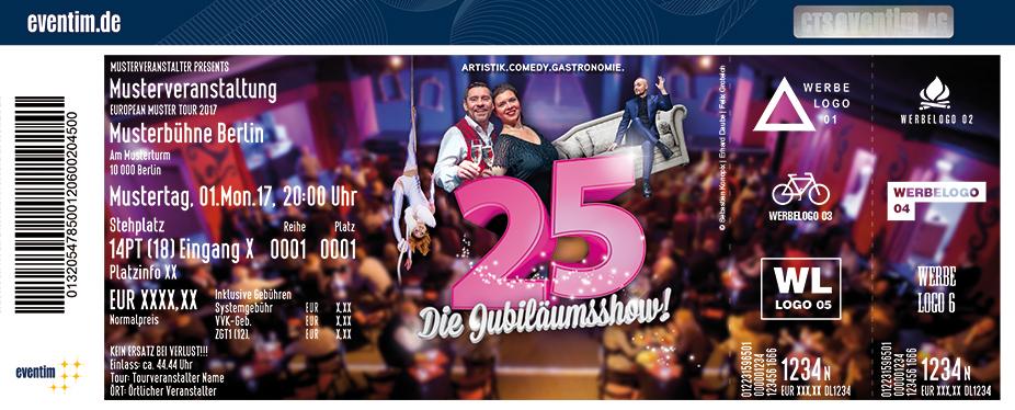 Karten für Varieté et cetera: Die Jubiläumsshow in Bochum