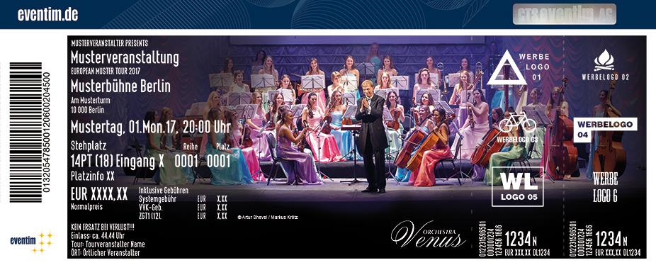 Karten für Venus Orchestra Konzertgala in Gotha