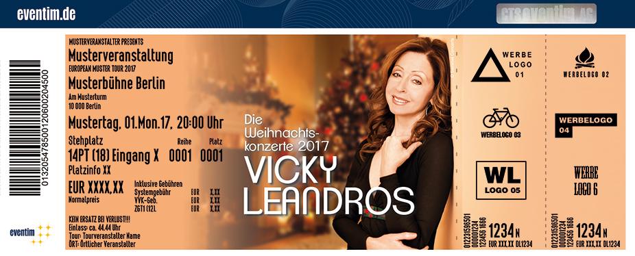 Vicky Leandros Karten für ihre Events 2017