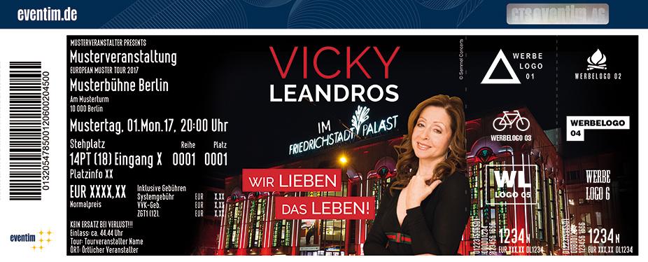 Vicky Leandros Karten für ihre Events 2018