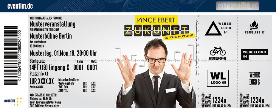 Karten für Vince Ebert: Zukunft is the Future in Lübeck