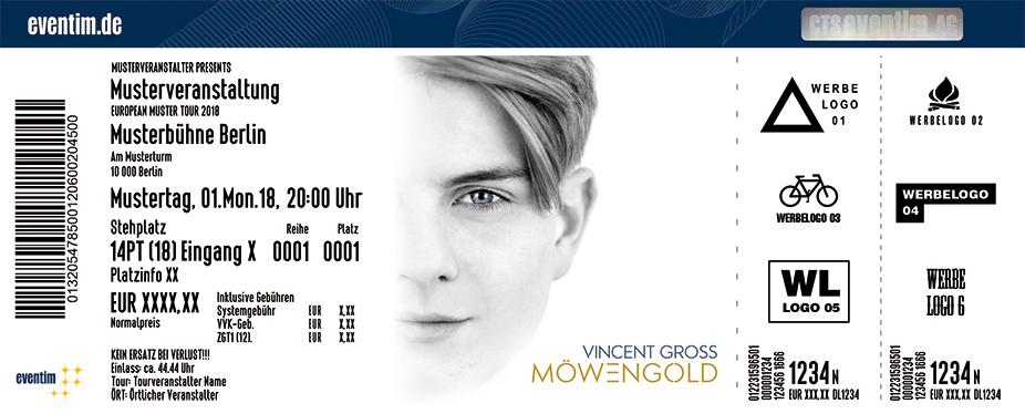 Karten für Vincent Gross - Möwengold Tour in Bremen