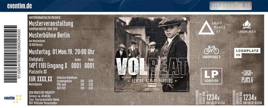 Volbeat tour 2020 deutschland