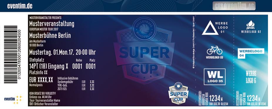 Karten für Volleyball Supercup 2017 in Hannover