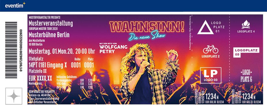 WAHNSINN! – Die neue Show mit den Hits von Wolfgang Petry Tour