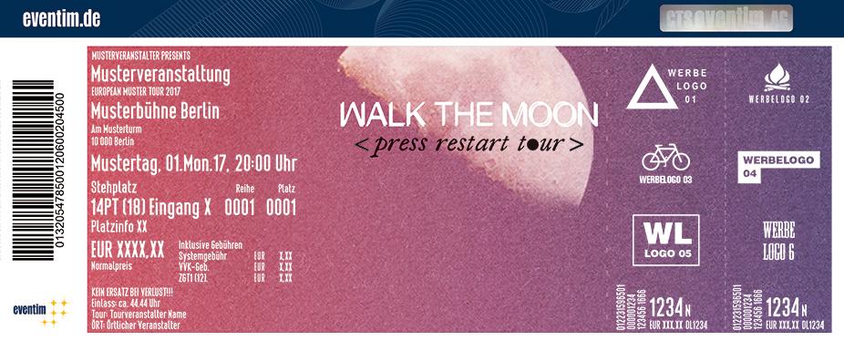 Walk The Moon Karten für ihre Events 2018