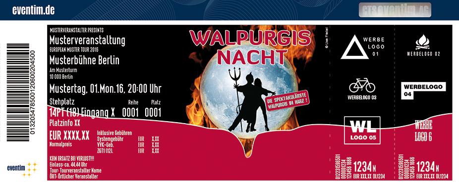 Walpurgisnacht Thale Karten für ihre Events 2018
