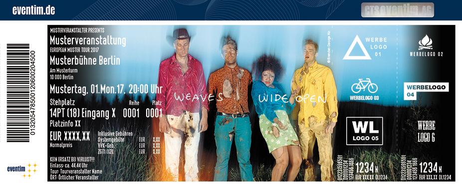 Karten für Weaves in Berlin