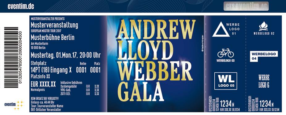 Karten für Die große Andrew Lloyd Webber Gala in Würzburg
