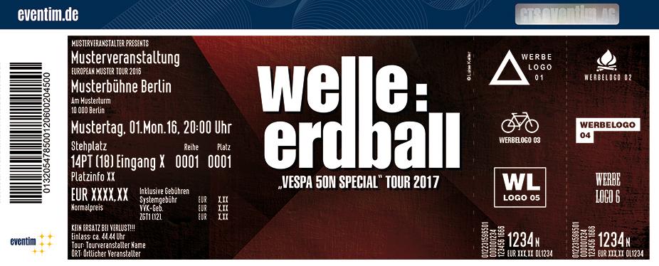 Karten für Welle:Erdball: Vespa 50n Special Tour 2017 in Leipzig