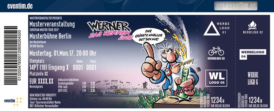Karten für Werner - Das Rennen | 30. Aug. - 02. Sept. 2018 in Hasenmoor