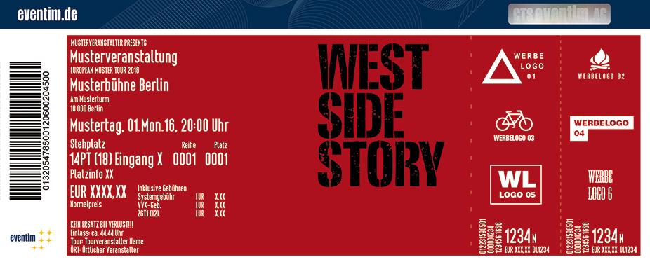 West Side Story - Der Original Broadway-Klassiker Karten für ihre Events 2017