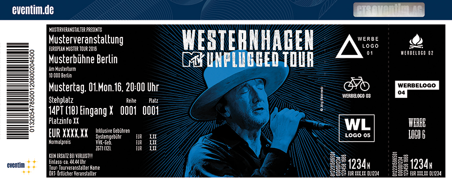 Karten für Westernhagen: MTV Unplugged Tour 2017 in Esch Alzette / Luxemburg
