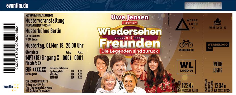 Uwe Jensen Karten für ihre Events 2018