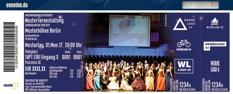 Karten für Die Grosse Wiener Strauss - Gala - Die Wiener Festival Operette in Kiel