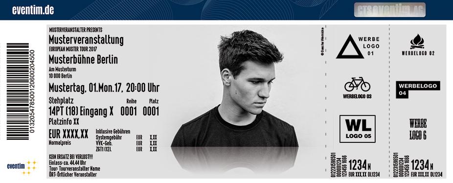 Karten für Wincent Weiss: Irgendwas gegen die Stille Tour 2017 in Nürnberg