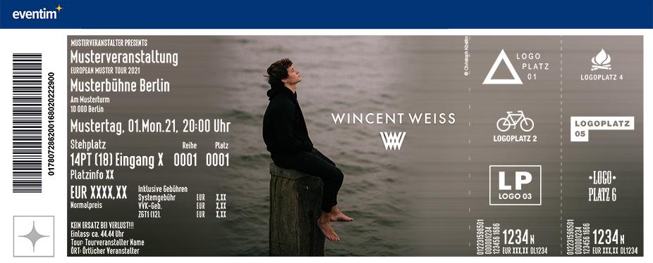 Wincent Weiss - Vielleicht irgendwann Tour 2022