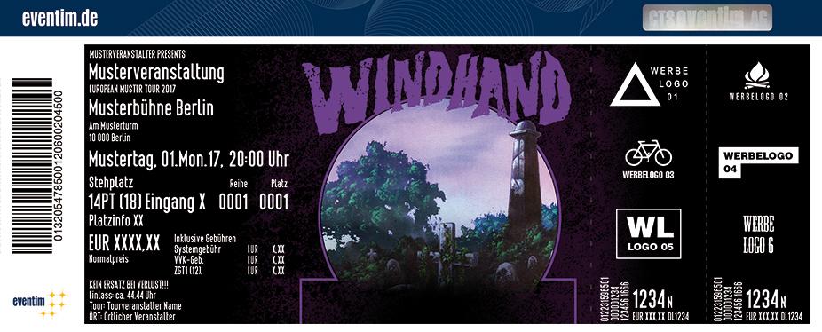 Karten für Windhand in Leipzig
