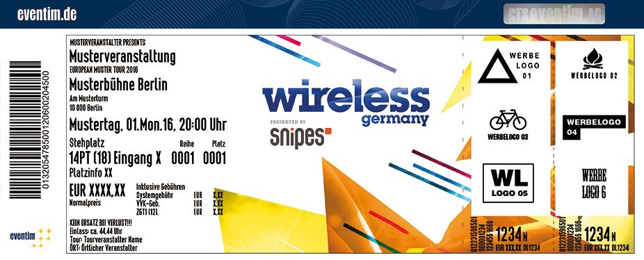 Wireless Festival Germany Karten für ihre Events 2017