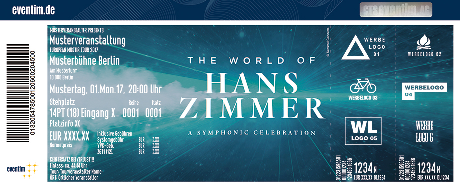 Karten für The World of Hans Zimmer - A Symphonic Celebration - Concert Tour 2018 in Berlin