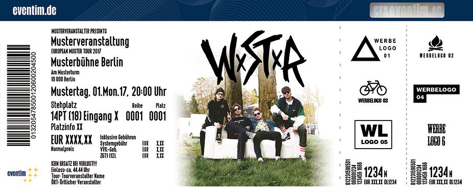 Karten für WSTR in Köln