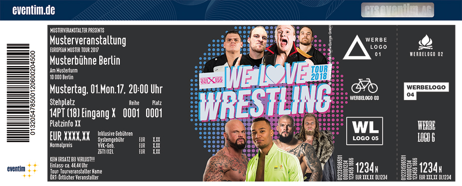 Karten für wXw We Love Wrestling Tour 2018 in Gifhorn